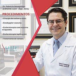 Dr. Fabricio - Médico em cirurgia vascular - Agendar Consulta